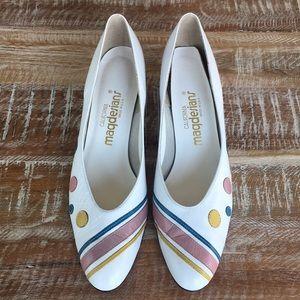 California Magdesians vintage 70s-80s leather heel
